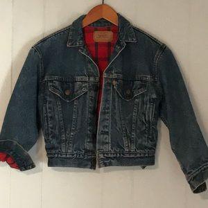 🌼 Vintage Levi's Flannel lined Jean Jacket